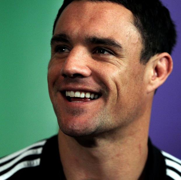Dan Carter is pleased to be back in the All Blacks fold following a groin injury