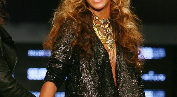 Beyonce rocked out with husband Jay-Z at the Coldplay gig in Manchester
