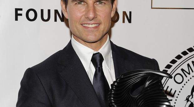 Tom Cruise took his daughter to the awards ceremony in Manhattan