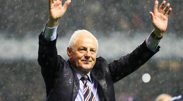 Walter Smith won 10 league titles as Rangers manager
