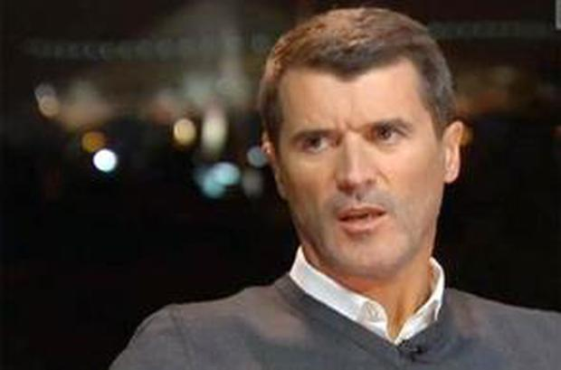 Roy Keane speaking on ITV last night
