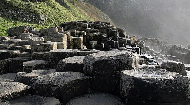 The Giant's Causeway is a World Heritage Site and Northern Ireland's number one tourist attraction