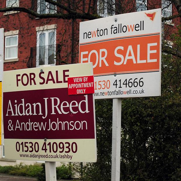 House asking prices have risen to a new record high, according to a study