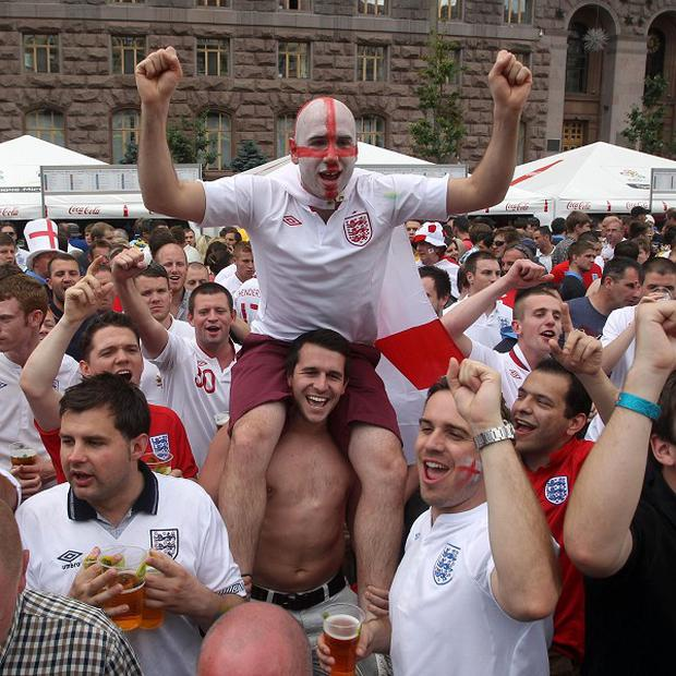 England fans have voiced concerns about the potential for violence surrounding Tuesday's match with co-hosts Ukraine