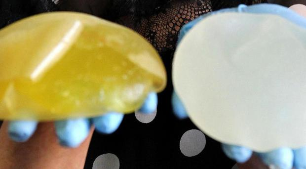 PIP breast implants have been given to around 47,000 women in the UK