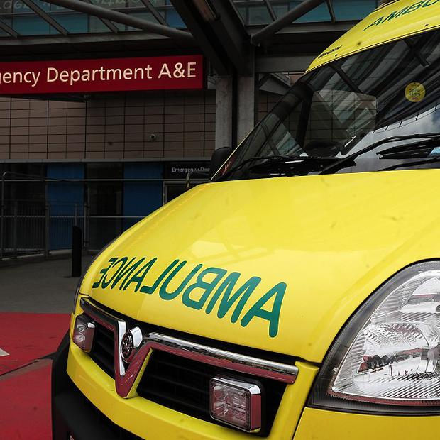 The crew of an ambulance were attacked by a stone-throwing mob in Poleglass on the outskirts of west Belfast