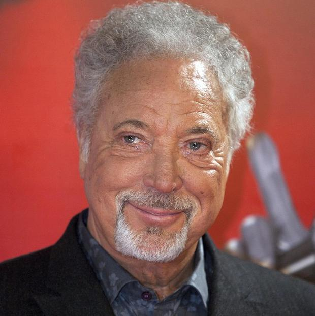 Sir Tom Jones was one of the judges on BBC TV show The Voice