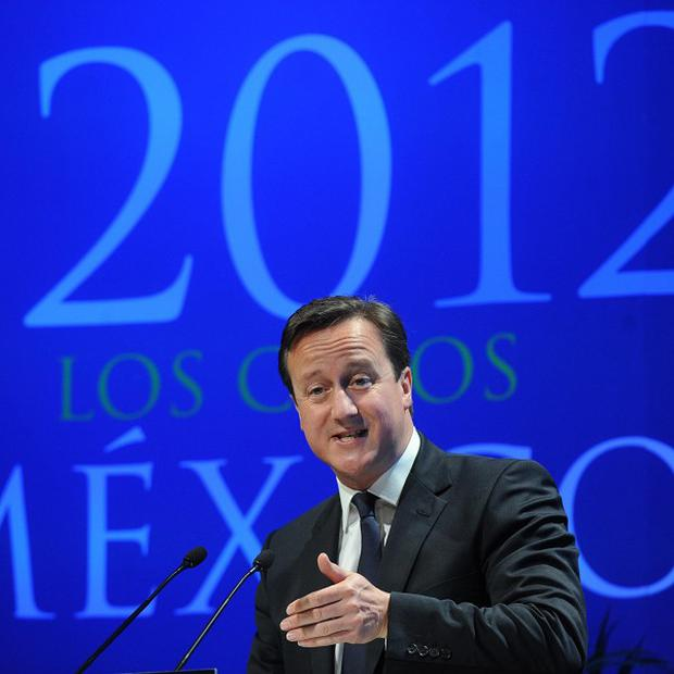 Prime Minister David Cameron has arrived in Mexico for the G20 summit