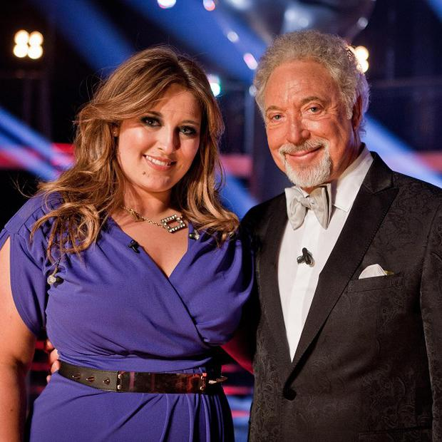 The Voice winner Leanne Mitchell, pictured with coach Sir Tom Jones, hasn't made a big impression on the charts