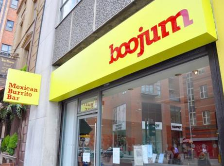Boojum boasts healthy fast food