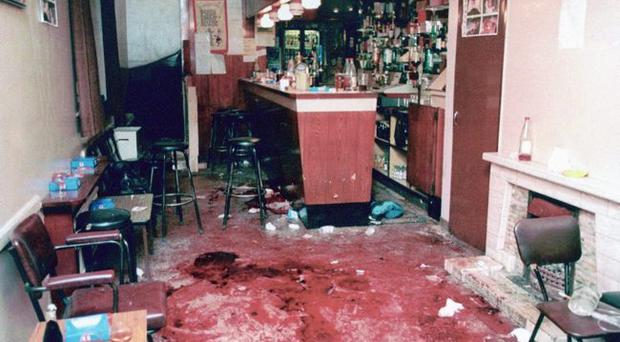 The Heights Bar in Loughinisland where six men were shot dead