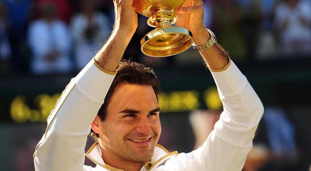 Roger Federer could win his seventh Wimbledon title this year
