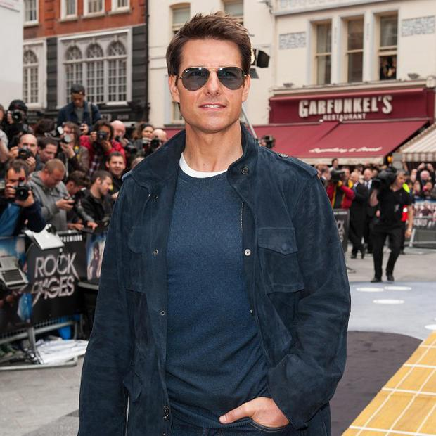 Tom Cruise apparently put his jet on stand-by after a crew member was injured