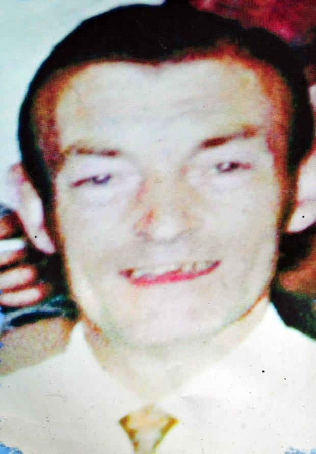 Pacemaker Press 17/6/10 Joseph Corr who is one of the 11 people died in the Ballymurphy Massacre in 1971 in West Belfast