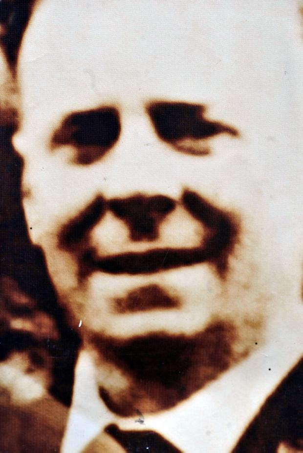 Pacemaker Press 17/6/10 John McKerr who is one of the 11 people died in the Ballymurphy Massacre in 1971 in West Belfast