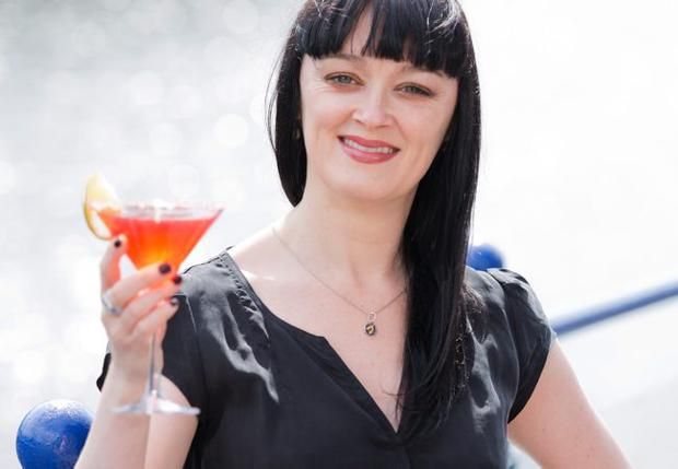 Actress Bronagh Gallagher joined a host of VIPs and media in Cutter's Wharf
