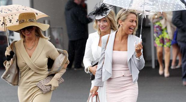 - Magners Ulster DerbyRacegoers arrive at Down Royal Picture by Kelvin Boyes / Press Eye.