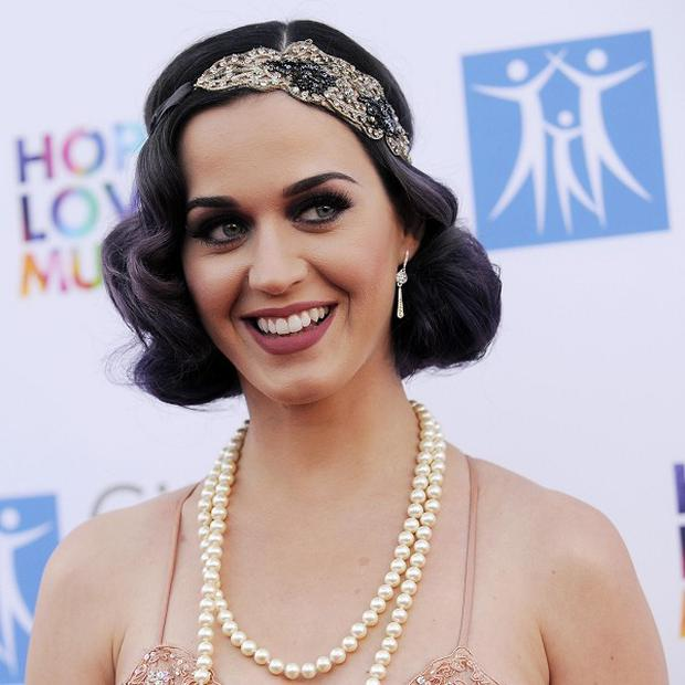 Singer Katy Perry said her film is 'from the heart'