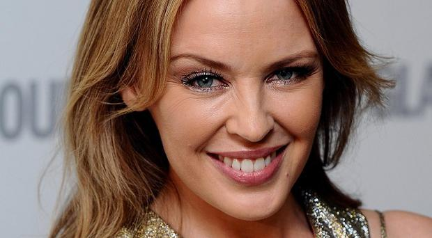 Kylie Minogue said she was thrilled to be honoured at the Silver Clef Awards