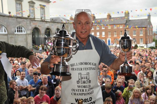 World Oyster Eating Champion - Colin Shirlow