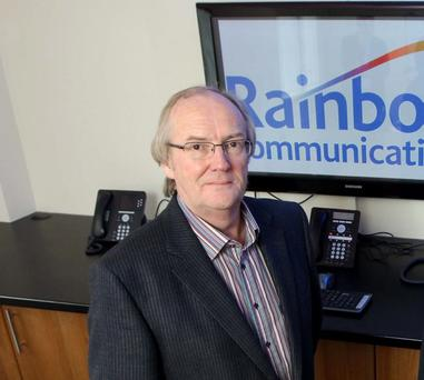 Eric Carson set up Rainbow Communications 15 years ago