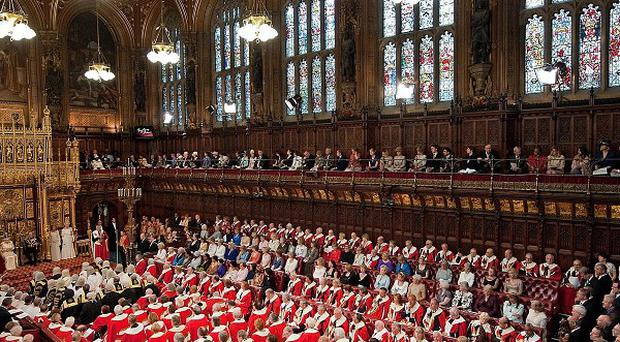 The House of Lords reform Bill is being driven by Deputy Prime Minister Nick Clegg