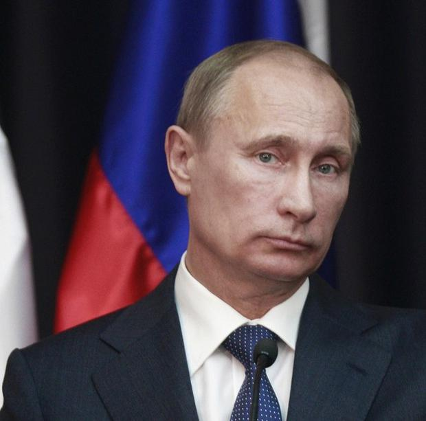 Vladimir Putin has submitted a bill to reform the upper house of the Russian parliament (AP)