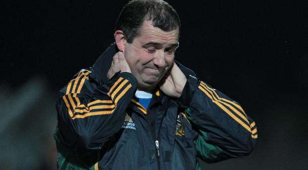 The stress tells on Meath boss seasmus McEnaney