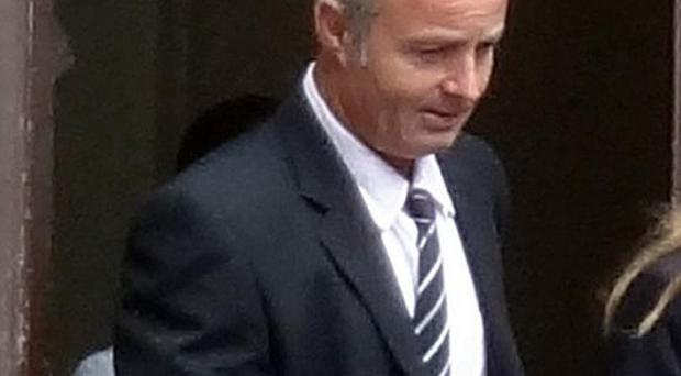 Nicholas Saunders, 46, was found guilty of having sex with his ex-partner's dog