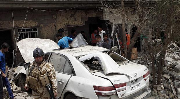 Baghdad has been hit by a series of bomb attacks in the past few days (AP)