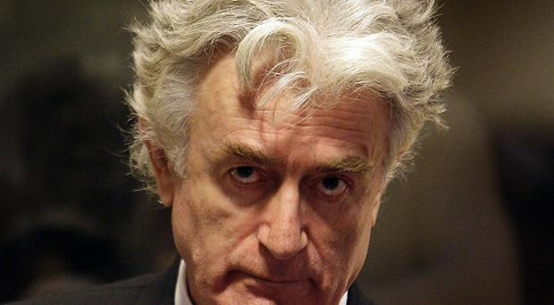 Former Bosnian Serb leader Radovan Karadzic has been cleared of one of two genocide charges he faces at The Hague(AP)