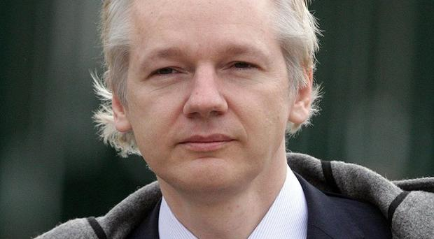 Julian Assange has been staying at the Embassy of Ecuador in London since last week
