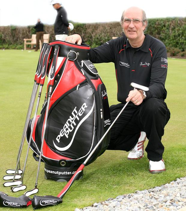 Robin Daly of Fred Daly Golf with the new Peanut Putter golf club range