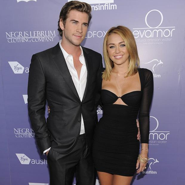 Liam Hemsworth and Miley Cyrus got engaged this month