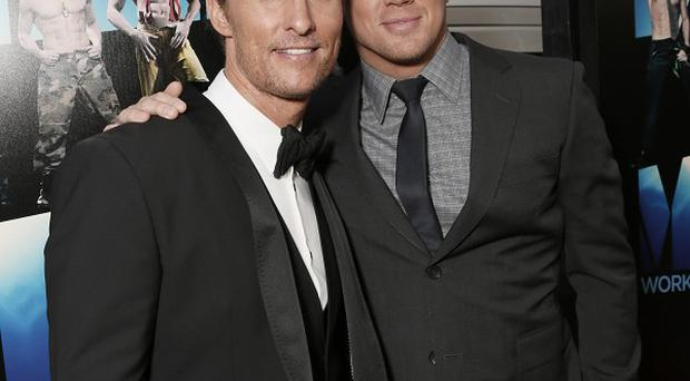 Matthew McConaughey and Channing Tatum didn't enjoy being waxed for their movie