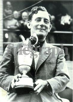 Fred Daly: Triumphant after his 1947 British Open Success