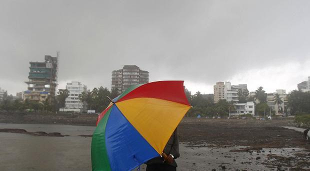 At least 27 people have died following monsoon rains in India (AP)
