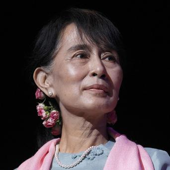 Aung San Suu Kyi has been reprimanded for calling her home country 'Burma'