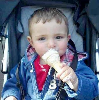The parents of Jamie Heaton, two, have hailed their 'unique and amazing' son