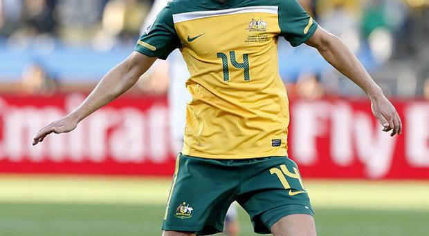 Brett Holman has won 53 caps for Australia