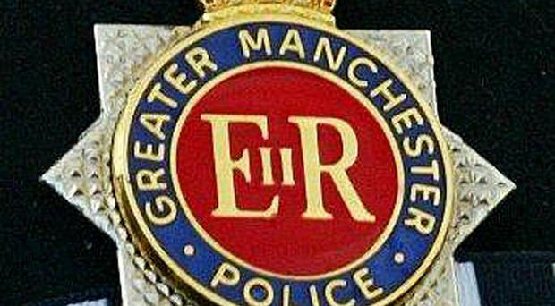 Greater Manchester Police say that a man who crashed his Lamborghini at an airfield has died