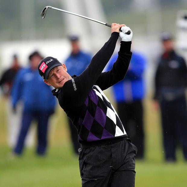 Jamie Donaldson holds a three-shot advantage