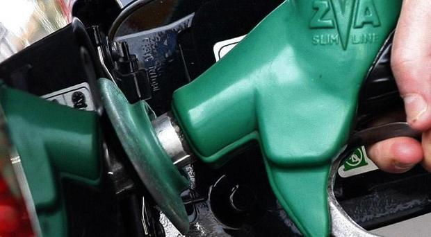 UK petrol consumption between January and March this year rose by nearly three per cent