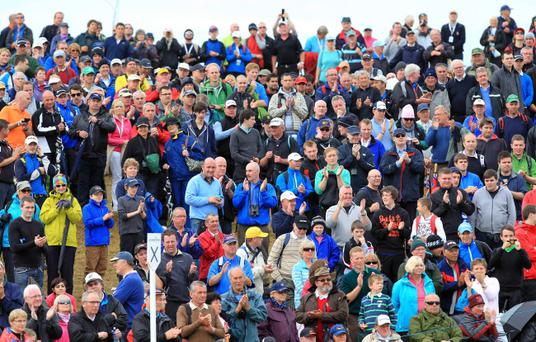 Day four of the 2012 Irish Open at Royal Portrush
