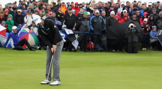 Rory McIlroy found that crucial putts refused to drop as he finished tied for 10th at the Irish Open in Portrush