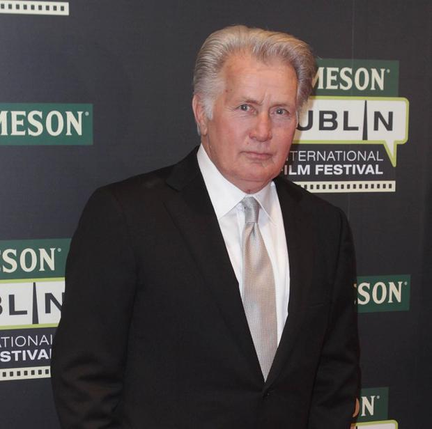 Martin Sheen said he loved working on his son's show