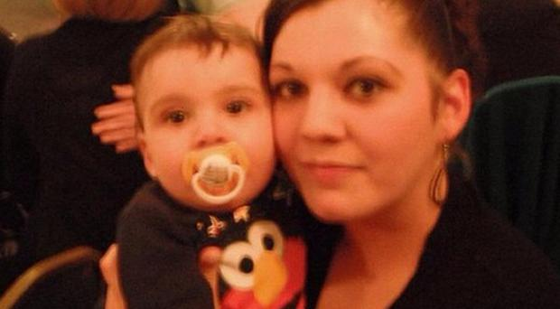 Melissa Crook and Noah died after a fire at their family home in Chatham Hill, Chatham, Kent (Kent Police/PA)