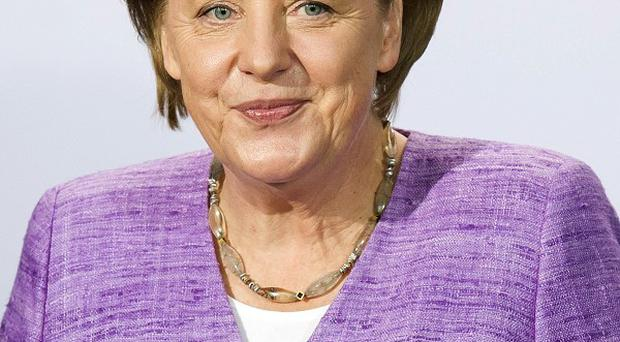 German chancellor Angela Merkel is facing a legal challenge to the eurozone rescue fund (AP)