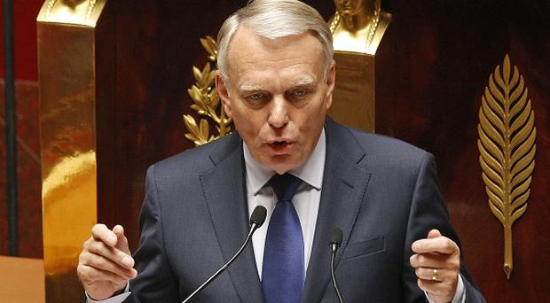 French prime minister Jean-Marc Ayrault delivers his first speech to the new Socialist-dominated parliament at the National Assembly in Paris (AP)
