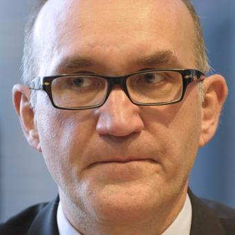 Thuringia domestic intelligence chief Thomas Sippel is being fired over the handling of investigations into a far-right group (AP)